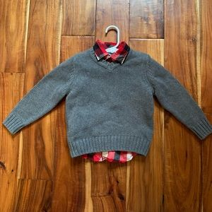 Boys Arizona 3T Christmas Holiday  shirt& sweater